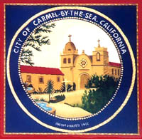 City of Carmel-by-the-Sea insignia